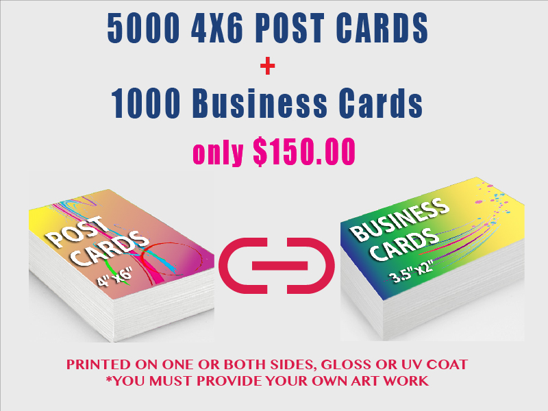 5000 4x6 post cards 1000 business cards mac impressions 5000 46 post cards 1000 business cards colourmoves