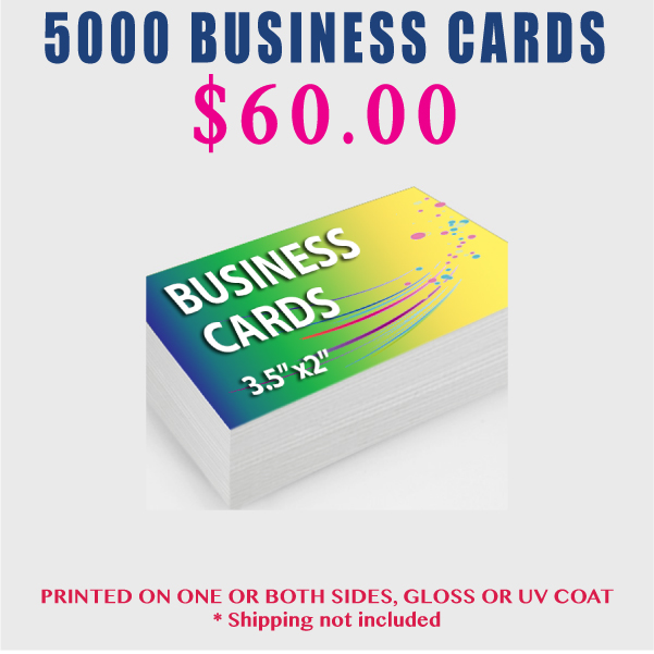 5000 business cards - 5000 Business Cards
